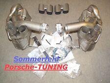 orig Porsche 997 + S MK2 Klappenauspuff + Endrohre valved exhaust muffler PSE