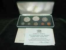 1973 Coinage of Trinidad and Tobago Tenth Anniversary 8 Coin Proof Set