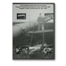 The Complete World War II WWII Films Library 6 DVD Set - A55-60