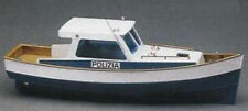Mantua Models Police Launch 1:35 Scale Wooden Motor Boat Kit 700