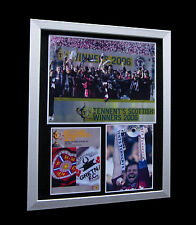 HEARTS TENNENT'S Scottish CUP 2006 LTD Numbered FRAMED+EXPRESS GLOBAL SHIPPING