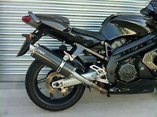 Aprilia SL 1000 Falco Pair of Carbon Oval Exhaust Cans/Silencers Road Legal