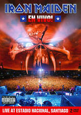 Iron Maiden En Vivo! Live at Estadio Nacional Santiago 2 DVD Set Sealed ! 2012