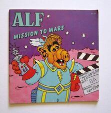 1987 ALF MISSION TO MARS BOOK WRITTEN BY ROBERT LOREN FLEMING