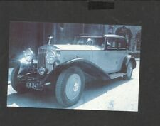 Nostalgia Postcard ultimate in luxury Roll Royce Sedan 1920's