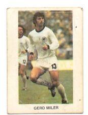 STICKER GERD MULLER BAYERN MUNICH GERMANY - YUGOSLAVIAN EDITON EURO FOOTBAL 1986