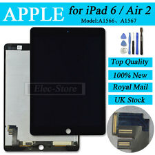 Black Screen For iPad 6 Air 2 6th Gen Replacement LCD Display & Digitizer Touch
