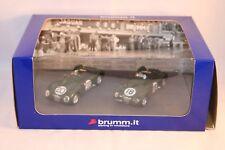 Brumm Jaguar C Type Winners 24h Le Mans 1951 & 1953 1:43 mint in box