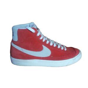 Nike Blazer Mid 77 Suede Habanero Red CZ1088-600 Orange Men's Shoes Size 9