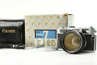 【 Rare !! BOXED MINT w/ ORIGINAL FILTER 】 Canon 7 + 50mm f/0.95 Lens from JAPAN