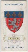 Lyon France Coat Of Arms French Rhone Saone 100+ Y/O  Ad Trade Card