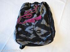 Billabong Girls juniors book bag back pack bookbag surf skate black white NEW^^