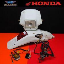 XR400 XR650 Headlight Head Tail Light Lamp Rear Fender Turn Signals Street Legal