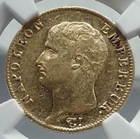 1806 FRANCE Napoleon Bonaparte 20 Francs Antique French Gold Coin NGC i80937