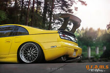 Universal 175cm 69'' GT Wing Spoiler Blade + Mount brackets, Racing Drifting v7