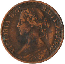More details for 1873 one farthing of queen victoria / very nice collectible coin #wt2375