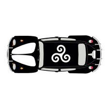 Autocollant Coccinelle voiture dos Bretagne Breizh sticker adhesif 17 cm