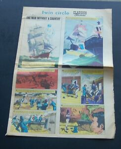 July 1 1968 Classic Illustrated Newspaper Comic Sect. Vol 2 #28  Man w/o a Count