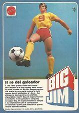 X0627 Big Jim Capocannoniere - Mattel - Pubblicità del 1983 - Vintage advert