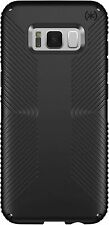 Speck Samsung Galaxy S8+ Presidio GripShockProof Tough Case Cover Black