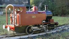 "Ajax 0-4-0 5"" gauge live steam locomotive - with hydraulic exam certificate"