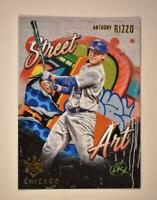 2021 Diamond Kings Street Art #SA-20 Anthony Rizzo - Chicago Cubs SSP