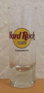 "HRC HARD ROCK CAFE - TORONTO ""Made in Canada BANAWE"" Logo Shot glass Glas"