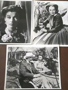Gone With the Wind Publicity Photo Lot (( MINT CONDITION )) 8x10 beautiful