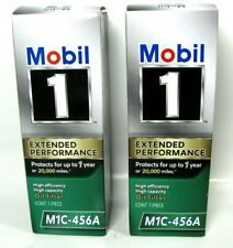 2 Lot Mobil 1 Oil Filters M1C-456A Extended Performance High Efficiency Capacity
