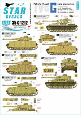 Star Decals 1/35 Panzer IV Ausf G Late Production 35C1212
