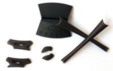 OAKLEY FLAK JACKET® ROOTBEER KIT EARSOCKS NOSEPADS NASELLI TERMINALI MARRONE