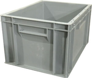 400x300x235 Solid Euro Stacking Container (20 Ltr)   (Pack of 6)