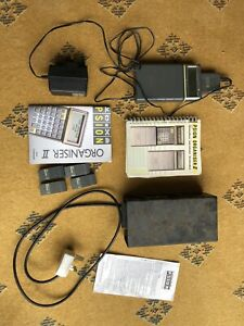 Vintage Psion organiser 2 II with accessories