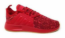 Adidas Unisex Kids X PLR C Athletic Sneakers Scarlet Red White Size 2 M US