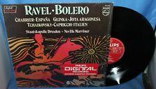 """RAVEL - BOLERO CHABRIER ESPANA GLINKA ALBUM 12"""" LP PHILIPS RECORDS 1982 6514 235"""