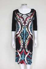 Peter Pilotto Abstract Print Stretch Kleid UK 12