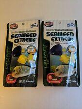 2 packs Hikari Seaweed Extreme 3.16 oz Sinking Medium Pellet Fish food aquarium