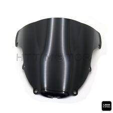 Smoke Black Double Bubble Windscreen Windshield for 03-2004 Kawasaki Ninja ZX6R