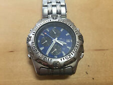 Used - Watch Reloj LOTUS Chronograph Quartz 5 ATM Steel Blue Dial - NO FUNCIONA