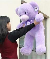 "35"" Purple Lavender TEDDY BEAR Stuffed Animal Plush&soft Toy Cute Doll gift"