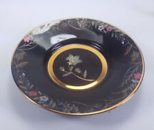 1986 The Hamilton Collection Japanese Blossoms Of Autumn Bellflower Chokin Plate