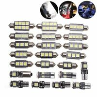 23x Canbus LED Car Interior Inside Light Dome Trunk Map License Plate Lamp 2020