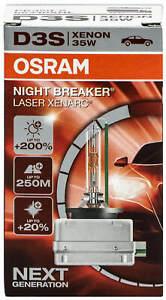 1x D3S Night Breaker Laser Osram Xenon Xenarc HID Bulb 66340XNL Headlight Lamp