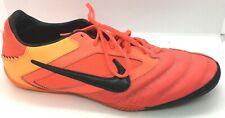 Nike Mens Rare Nike5 Elastico Pro 415121-608 Orange Red Indoor Shoes Size 12