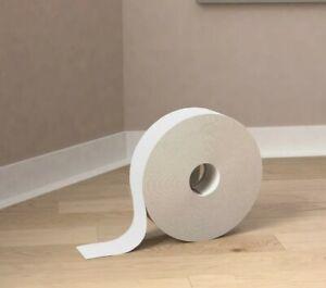 5M Skirting Board -Self Adhesive Trim Flexible Skirting PVC Angle 50mm X 20mm