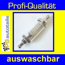 TOP ANGEBOT Benzinfilter-CHROM lang 8mm Opel Astra F alle Modelle