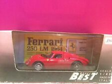 MODEL BEST SUPERBE FERRARI 250 LM PROVA  NEUF EN BOITE ech 1/43 I1