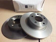New Genuine Alfa 156 164 Lancia Delta Fiat Croma Pair brake discs 1606319380 DW