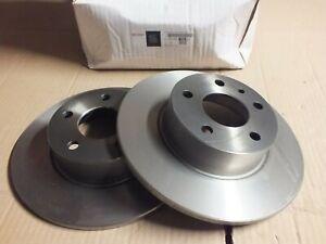 New Eurorepar Alfa 156 164 Lancia Delta Fiat Croma Pr brake discs 1606319380 DW