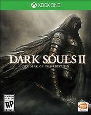 XBOX ONE XB1 GAME DARK SOLS II: SCHOLAR OF THE FIRST SIN BRAND NEW SEALED